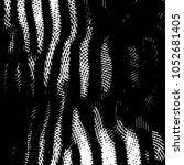 grunge halftone black and white ... | Shutterstock .eps vector #1052681405