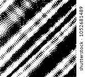 grunge halftone black and white ... | Shutterstock .eps vector #1052681489