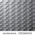 square abstract  dark texture ... | Shutterstock .eps vector #1052682341