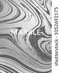 gradient vector marble texture. ... | Shutterstock .eps vector #1052692175