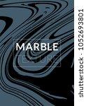 marble texture. ink splash.... | Shutterstock .eps vector #1052693801