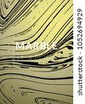 marble texture. ink splash.... | Shutterstock .eps vector #1052694929