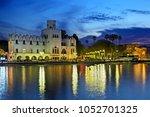 kos island  dodecanese  aegean...   Shutterstock . vector #1052701325
