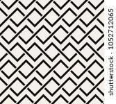 geometric seamless pattern.... | Shutterstock .eps vector #1052712065
