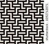 geometric seamless pattern.... | Shutterstock .eps vector #1052712071