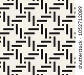 geometric seamless pattern.... | Shutterstock .eps vector #1052712089