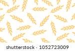 oat pattern vector. free space... | Shutterstock .eps vector #1052723009