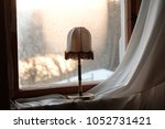 vintage lampshades in saxony  ... | Shutterstock . vector #1052731421
