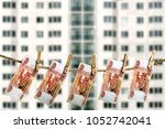 mortgage investment concept.... | Shutterstock . vector #1052742041