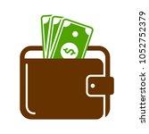 wallet sign illustration | Shutterstock .eps vector #1052752379