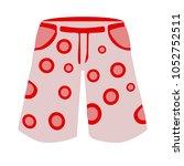 men swimming suit illustration  ... | Shutterstock .eps vector #1052752511