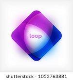 vector square loop business... | Shutterstock .eps vector #1052763881