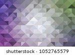 light pink  green vector... | Shutterstock .eps vector #1052765579