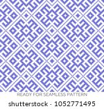 pattern based on traditional... | Shutterstock .eps vector #1052771495