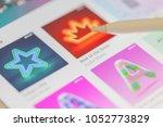 bangkok   thailand   march  19  ...   Shutterstock . vector #1052773829