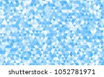 light blue vector blurry... | Shutterstock .eps vector #1052781971