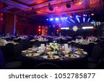 wedding hall or other function... | Shutterstock . vector #1052785877