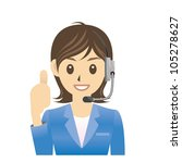 operator | Shutterstock .eps vector #105278627