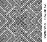 design seamless monochrome... | Shutterstock .eps vector #1052801561