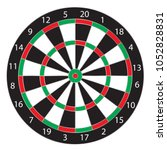 Dartboard Isolated  Vector