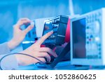 the use of measurement in the...   Shutterstock . vector #1052860625