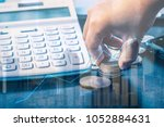 finance and accounting saving... | Shutterstock . vector #1052884631