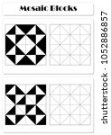 collect the correct sequence of ... | Shutterstock . vector #1052886857