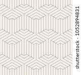 vector seamless pattern. modern ... | Shutterstock .eps vector #1052894831