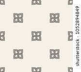 vector seamless pattern. modern ... | Shutterstock .eps vector #1052894849