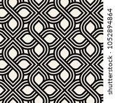 vector seamless pattern. modern ...   Shutterstock .eps vector #1052894864