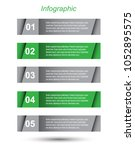 modern design template  can be... | Shutterstock .eps vector #1052895575