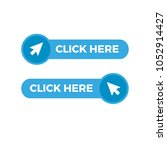 click here button with arrow... | Shutterstock .eps vector #1052914427