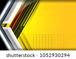 abstract tech background with...   Shutterstock .eps vector #1052930294