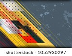 abstract tech background with... | Shutterstock .eps vector #1052930297
