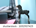 Grey Breyer Horse.