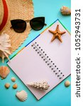 the layout on the theme of... | Shutterstock . vector #1052943731