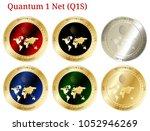 6 in 1 set of quantum 1 net ...