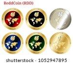 6 in 1 set of reddcoin  rdd  ...