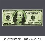 Icon Banknote The Us Dollar....