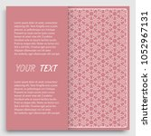 card  invitation  cover... | Shutterstock .eps vector #1052967131