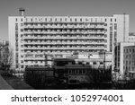 typical soviet residential... | Shutterstock . vector #1052974001