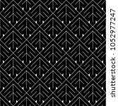 seamless arrows pattern.... | Shutterstock .eps vector #1052977247
