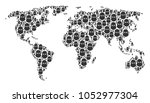 global geography atlas... | Shutterstock .eps vector #1052977304