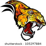 leopard | Shutterstock .eps vector #105297884