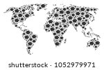 global geography atlas mosaic... | Shutterstock .eps vector #1052979971