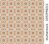 vector seamless geometric... | Shutterstock .eps vector #1052998211