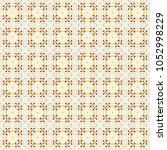 vector seamless geometric... | Shutterstock .eps vector #1052998229