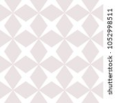 subtle vector seamless pattern... | Shutterstock .eps vector #1052998511