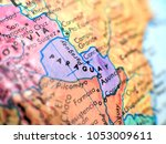 paraguay isolated focus macro... | Shutterstock . vector #1053009611