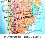 argentina south america... | Shutterstock . vector #1053011849